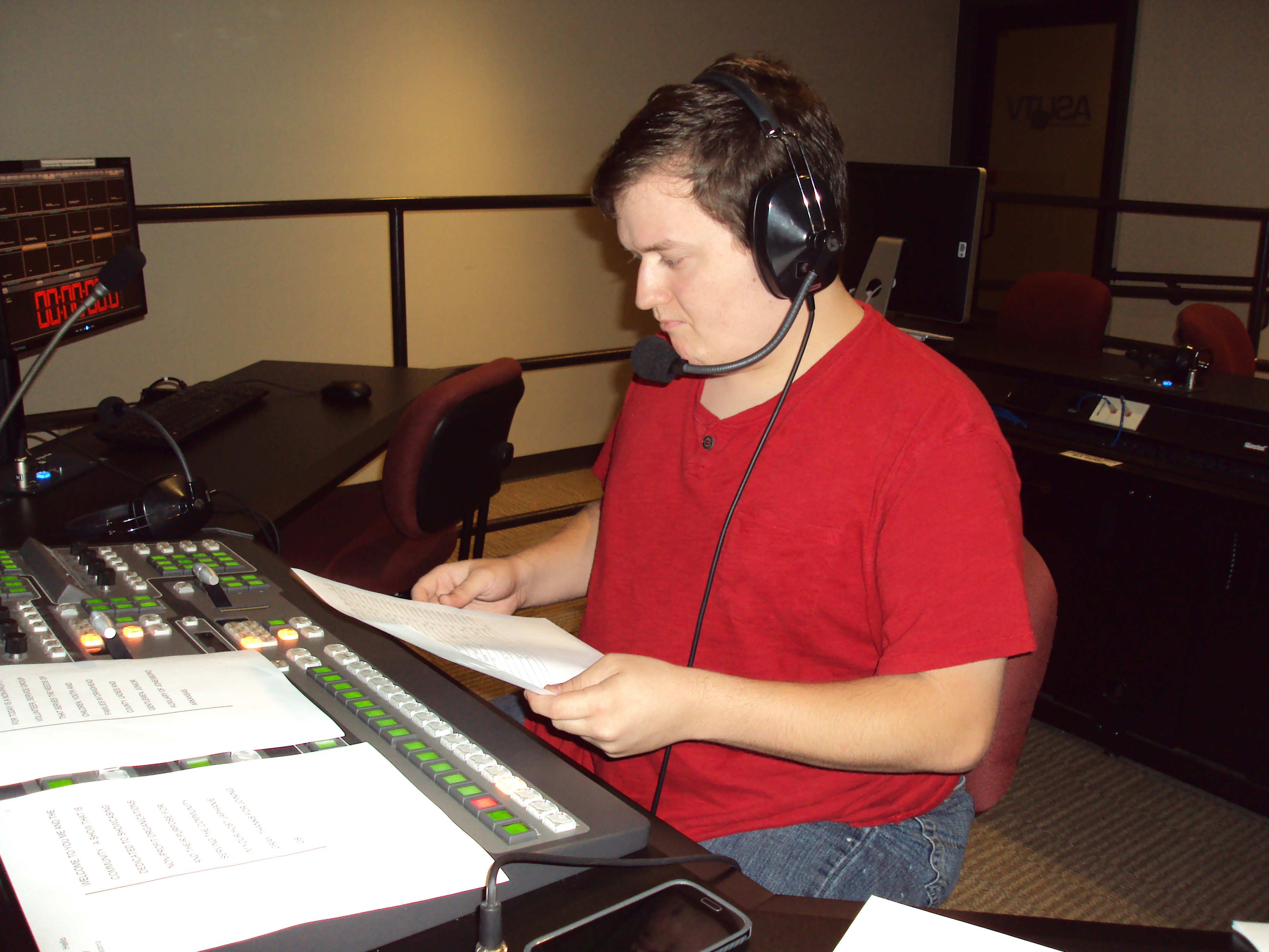 Student directing production